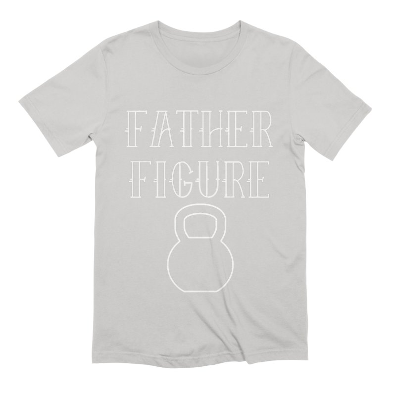 Father Figure White KB Men's Extra Soft T-Shirt by adamj's Artist Shop