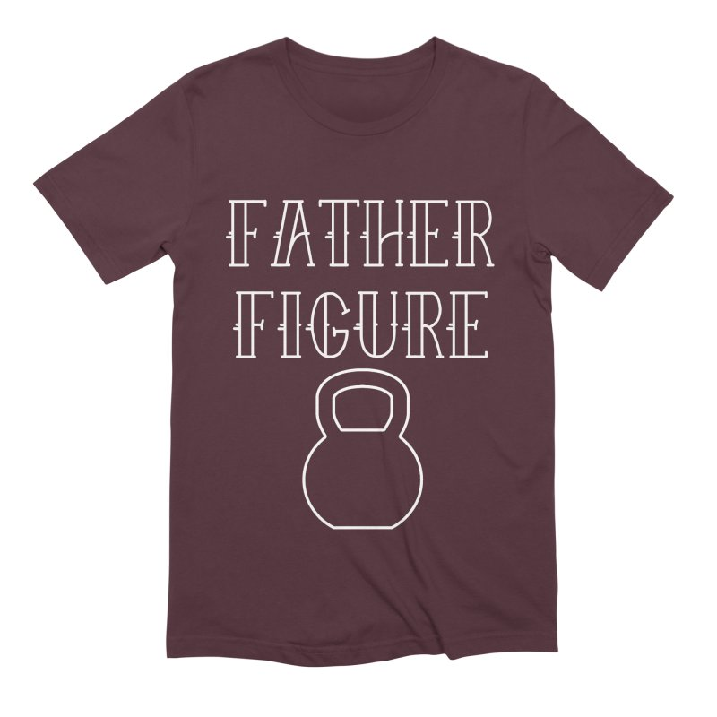 Father Figure White KB Men's Extra Soft T-Shirt by adamj's Artist Shop