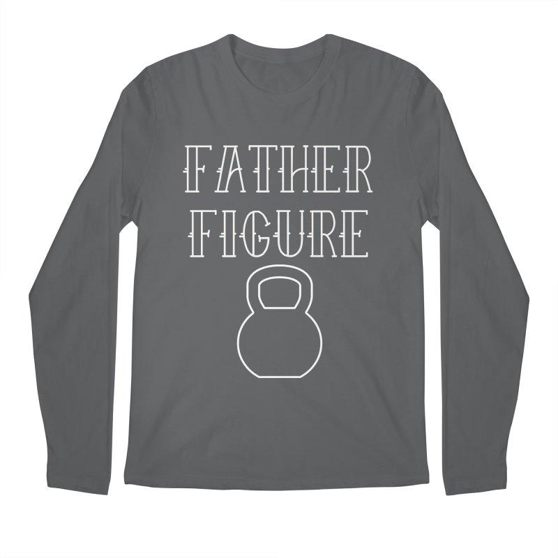 Father Figure White KB Men's Regular Longsleeve T-Shirt by adamj's Artist Shop