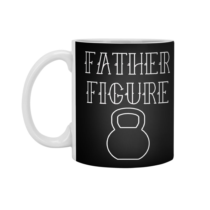 Father Figure White KB Accessories Mug by adamj's Artist Shop