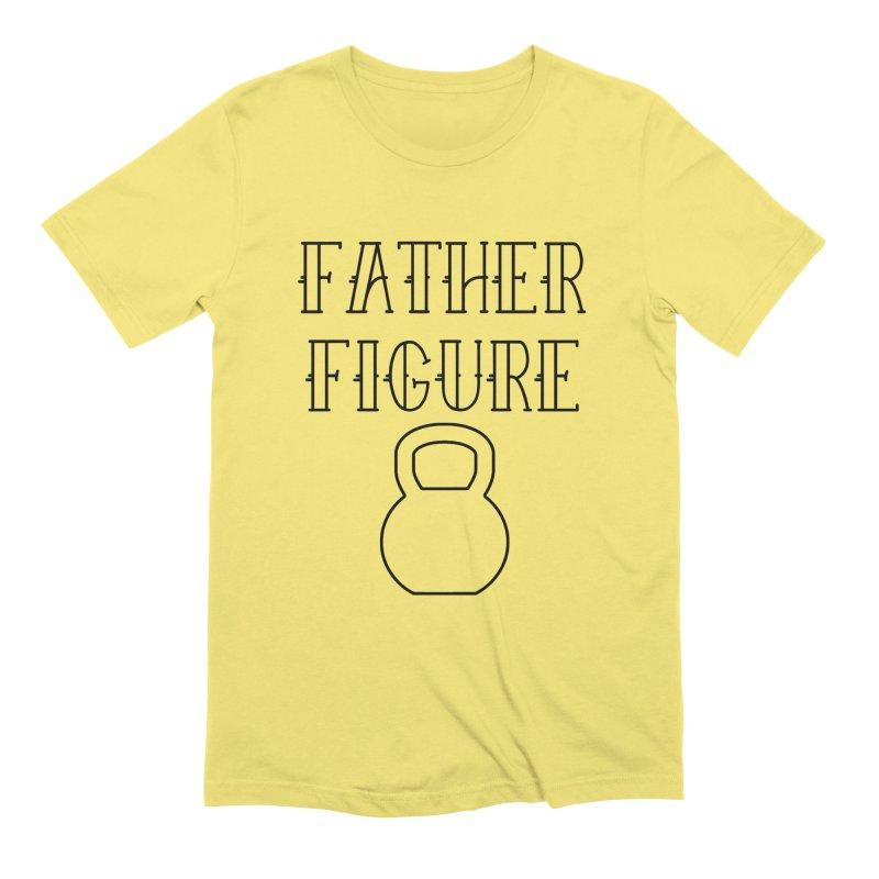 Father Figure KB Black Men's T-Shirt by adamj's Artist Shop