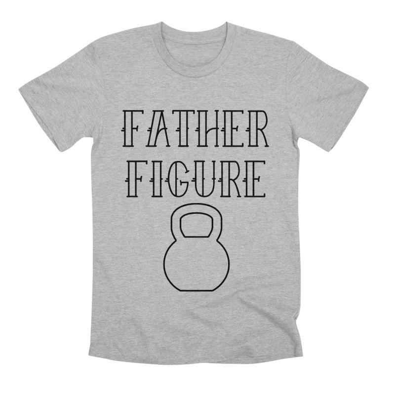 Father Figure KB Black Men's Premium T-Shirt by adamj's Artist Shop