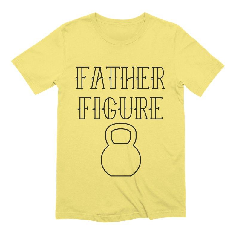Father Figure KB Black Men's Extra Soft T-Shirt by adamj's Artist Shop