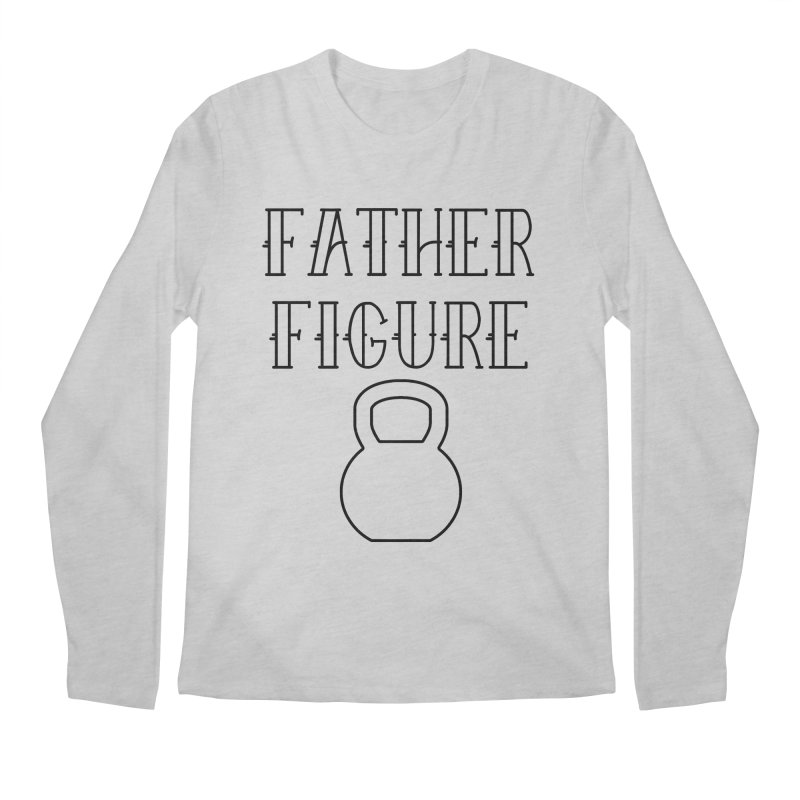 Father Figure KB Black Men's Regular Longsleeve T-Shirt by adamj's Artist Shop