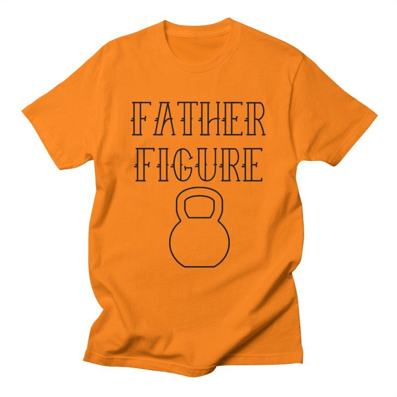 Father Figure KB Black Men's Regular T-Shirt by adamj's Artist Shop