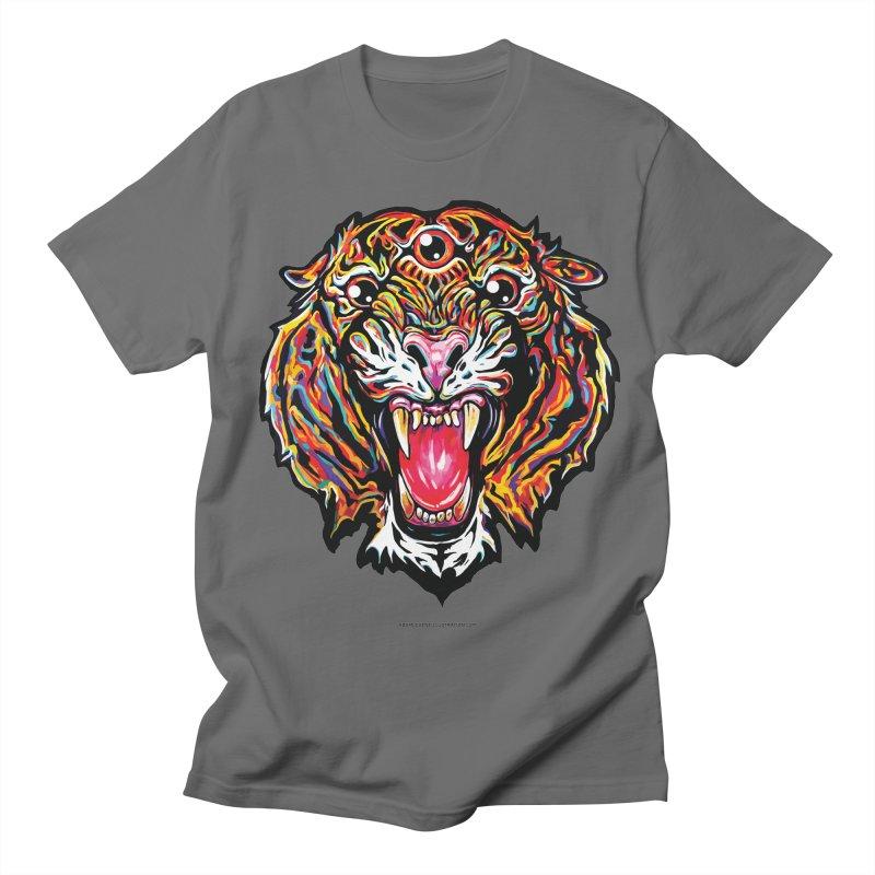 Tiger Men's T-Shirt by adamlevene's Artist Shop