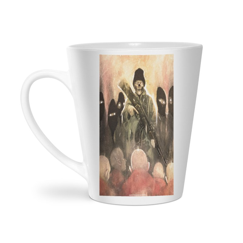 Witness Accessories Latte Mug by adamlevene's Artist Shop