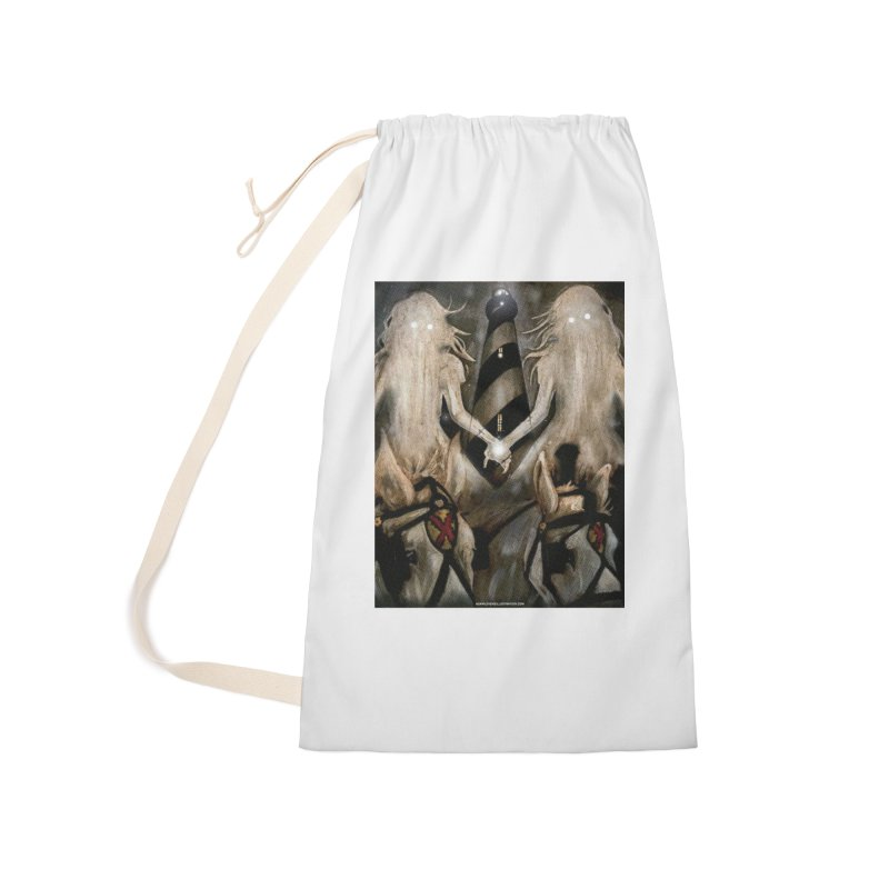 Lighthouse Accessories Laundry Bag Bag by adamlevene's Artist Shop