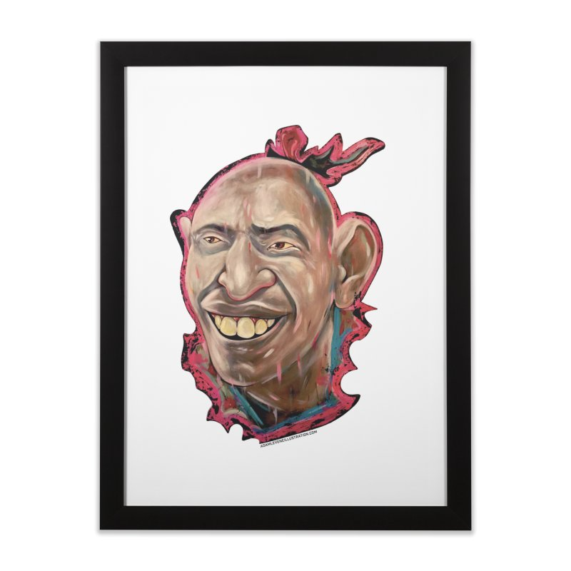 Schlitzie Home Framed Fine Art Print by adamlevene's Artist Shop