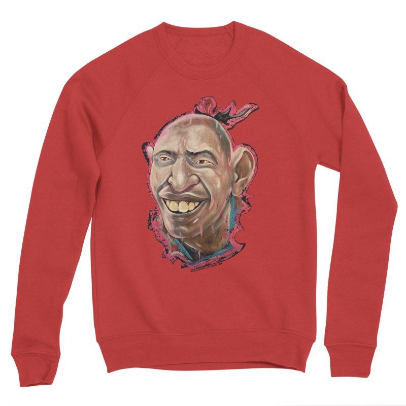 Schlitzie Men's Sponge Fleece Sweatshirt by adamlevene's Artist Shop