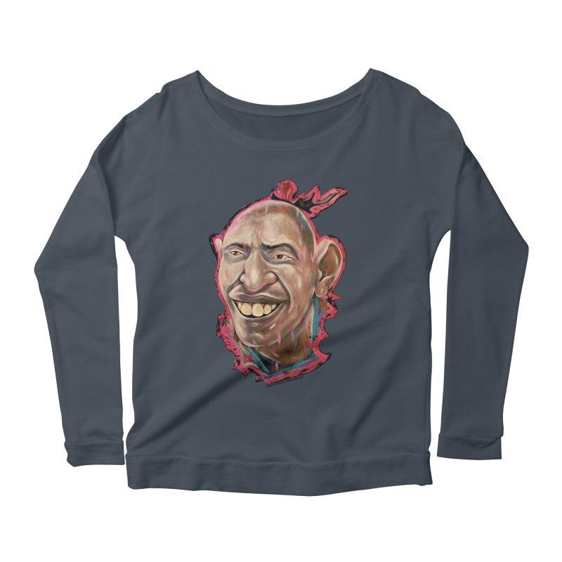 Schlitzie Women's Scoop Neck Longsleeve T-Shirt by adamlevene's Artist Shop