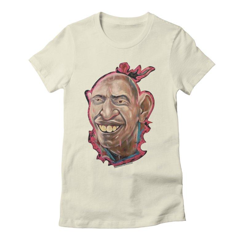 Schlitzie Women's Fitted T-Shirt by adamlevene's Artist Shop