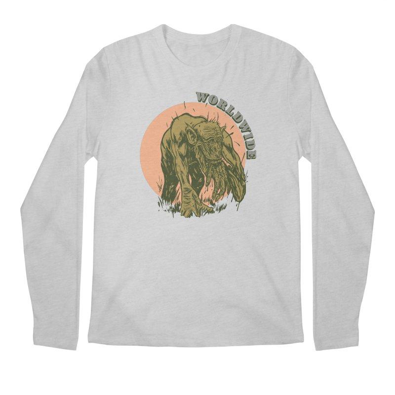Arm Rip Worldwide Men's Regular Longsleeve T-Shirt by adamlevene's Artist Shop