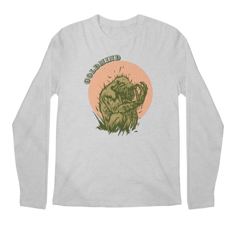 Eye pull Goldmind Men's Regular Longsleeve T-Shirt by adamlevene's Artist Shop