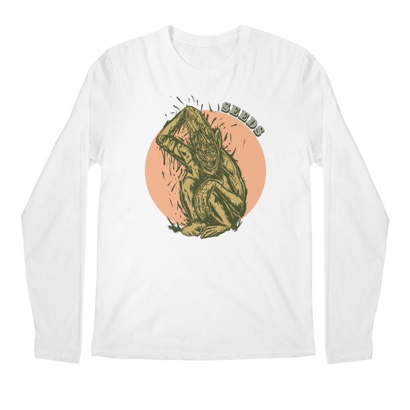 Facepull Seeds Men's Regular Longsleeve T-Shirt by adamlevene's Artist Shop