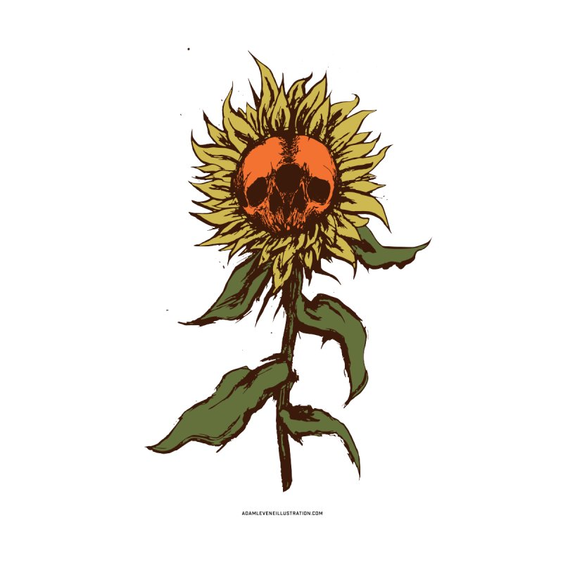 Sunflower Home Throw Pillow by adamlevene's Artist Shop