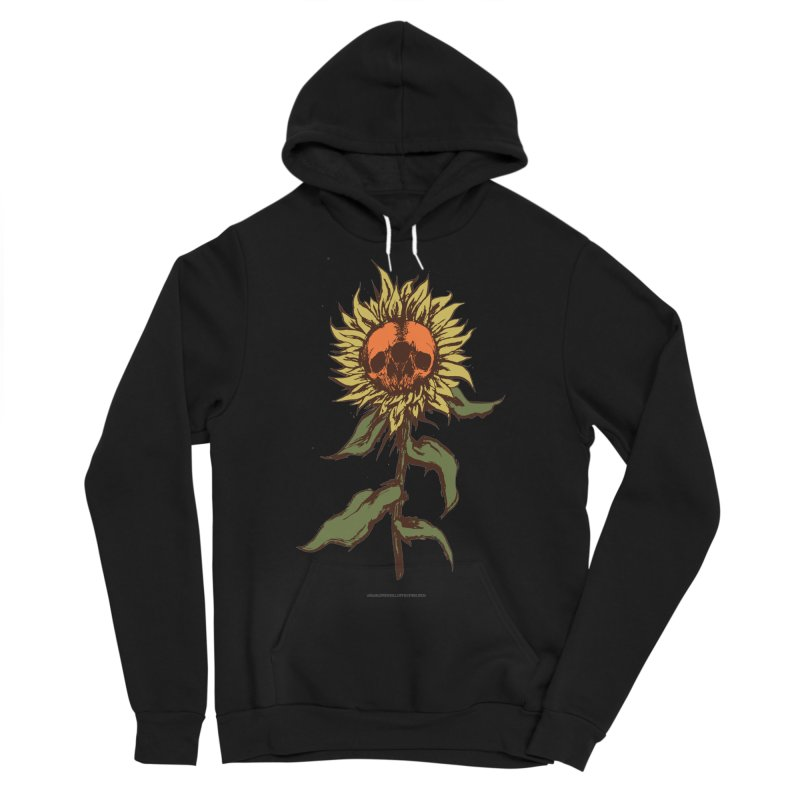 Sunflower Men's Sponge Fleece Pullover Hoody by adamlevene's Artist Shop