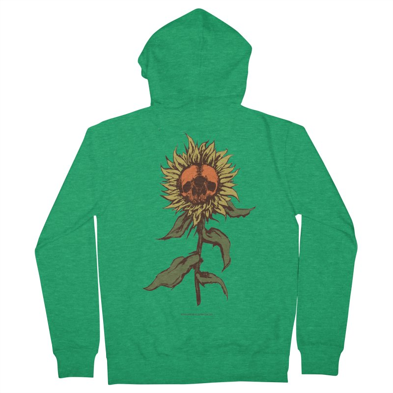 Sunflower Men's French Terry Zip-Up Hoody by adamlevene's Artist Shop