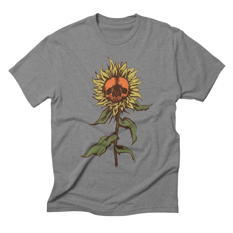 Sunflower Men's Triblend T-Shirt by adamlevene's Artist Shop