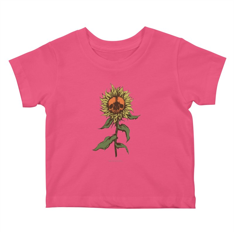 Sunflower Kids Baby T-Shirt by adamlevene's Artist Shop