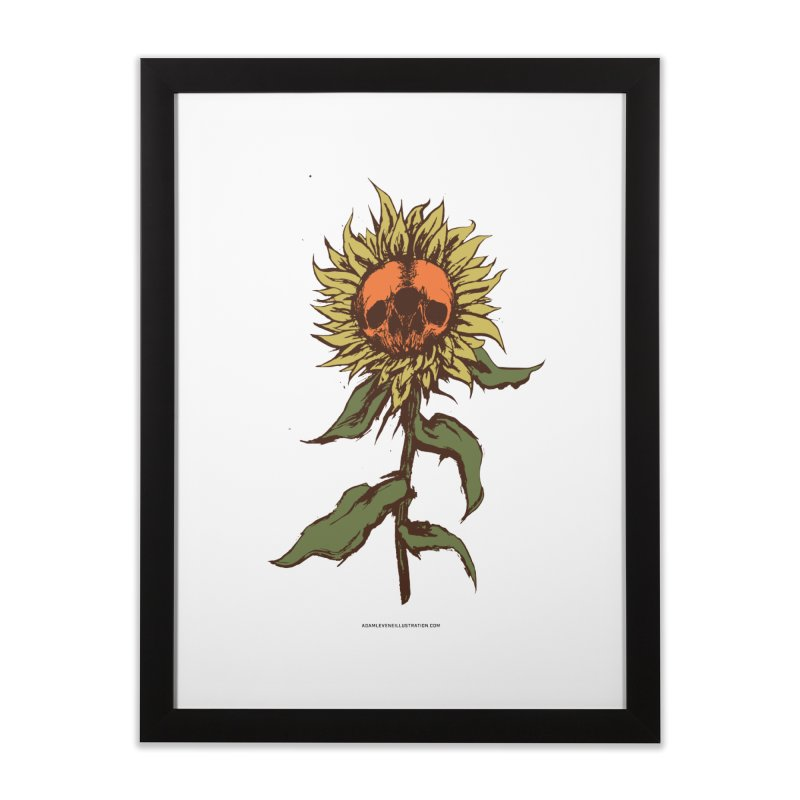 Sunflower Home Framed Fine Art Print by adamlevene's Artist Shop