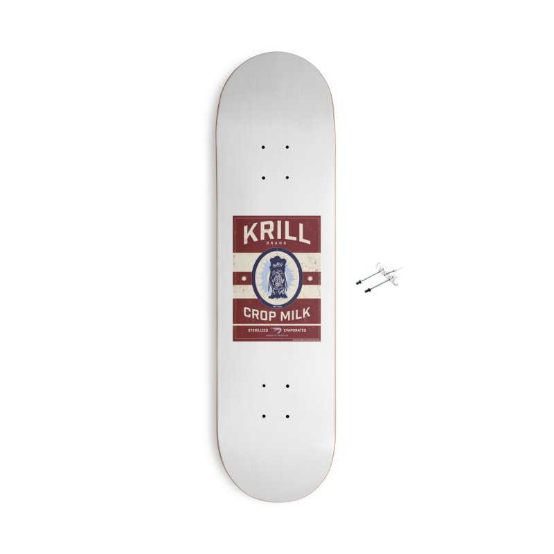 Krill Brand Accessories With Hanging Hardware Skateboard by adamlevene's Artist Shop