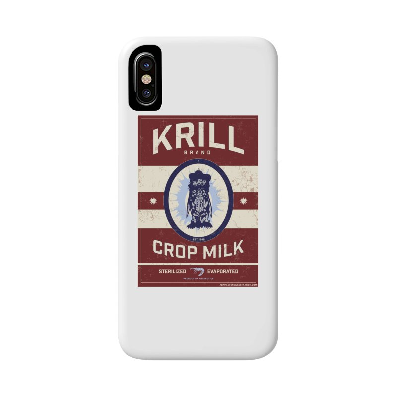 Krill Brand Accessories Phone Case by adamlevene's Artist Shop