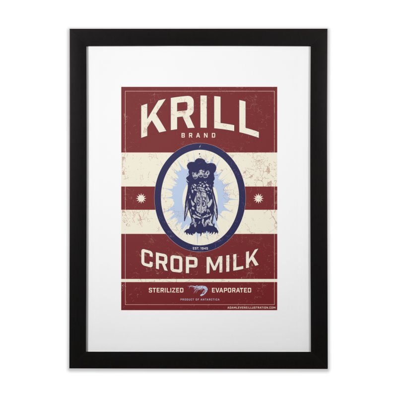 Krill Brand Home Framed Fine Art Print by adamlevene's Artist Shop
