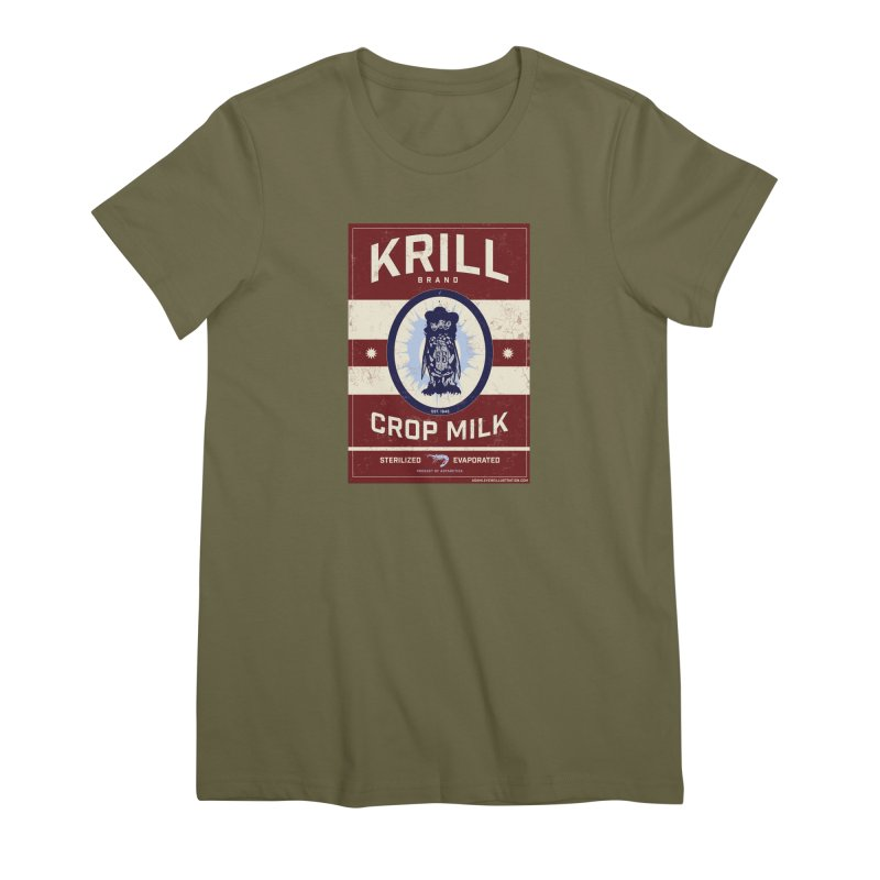 Krill Brand Women's Premium T-Shirt by adamlevene's Artist Shop