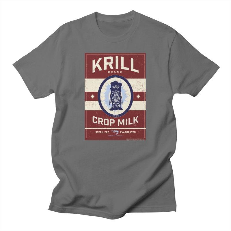Krill Brand Men's T-Shirt by adamlevene's Artist Shop