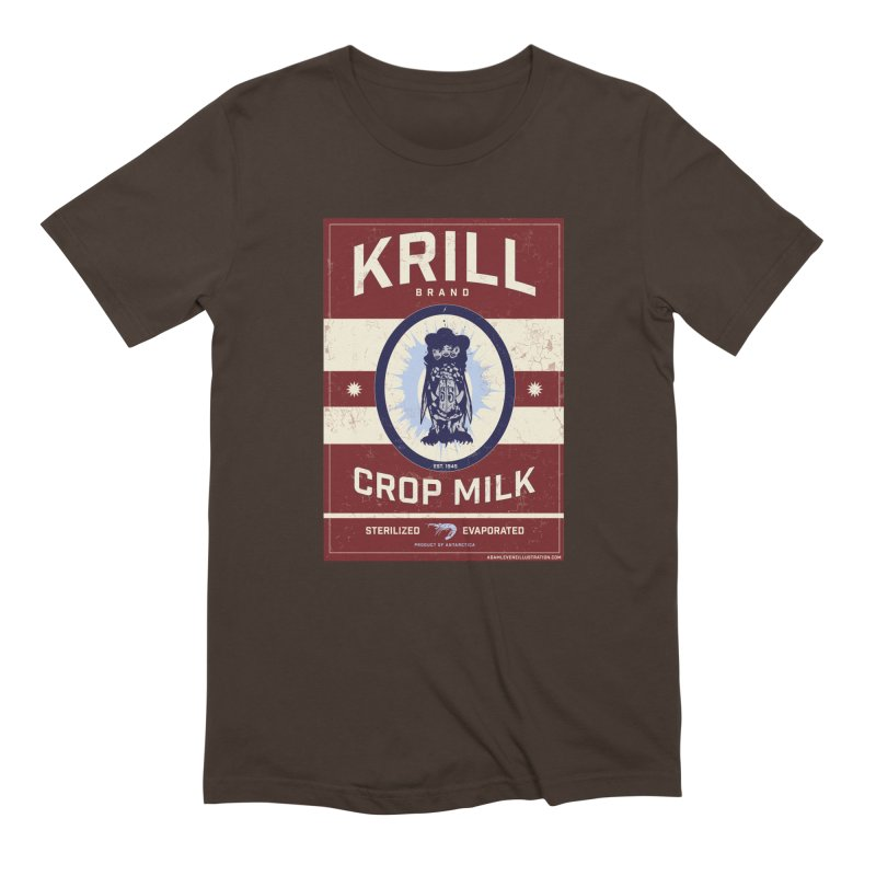 Krill Brand Men's Extra Soft T-Shirt by adamlevene's Artist Shop