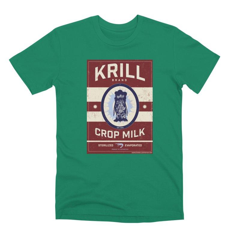 Krill Brand Men's Premium T-Shirt by adamlevene's Artist Shop