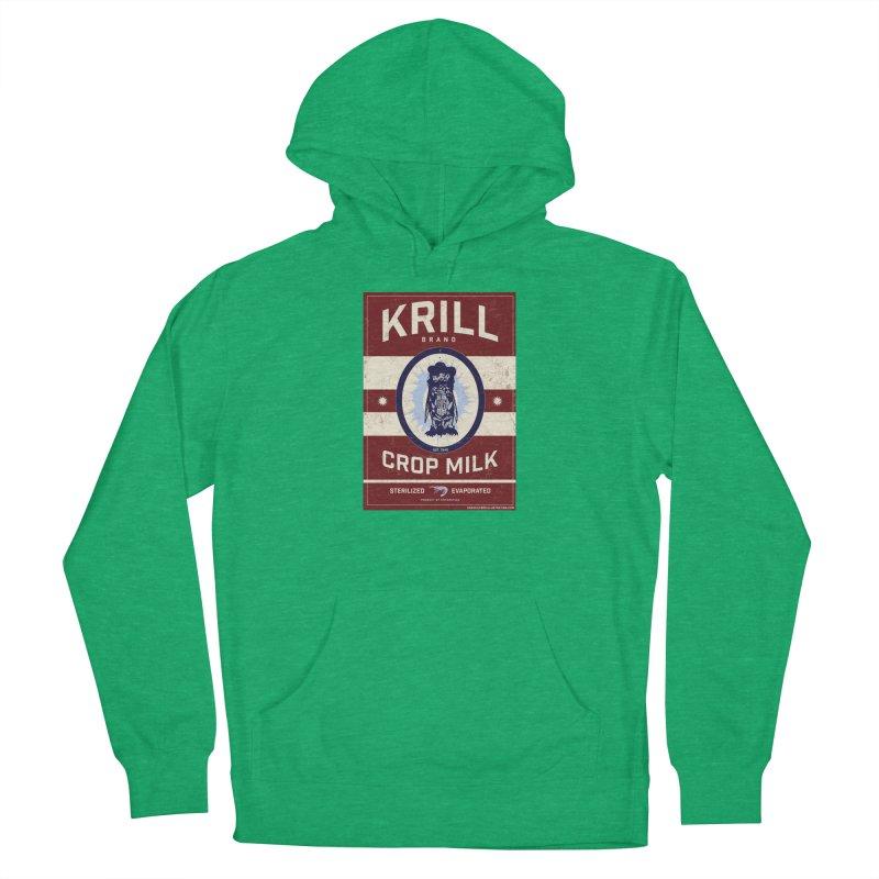 Krill Brand Men's French Terry Pullover Hoody by adamlevene's Artist Shop