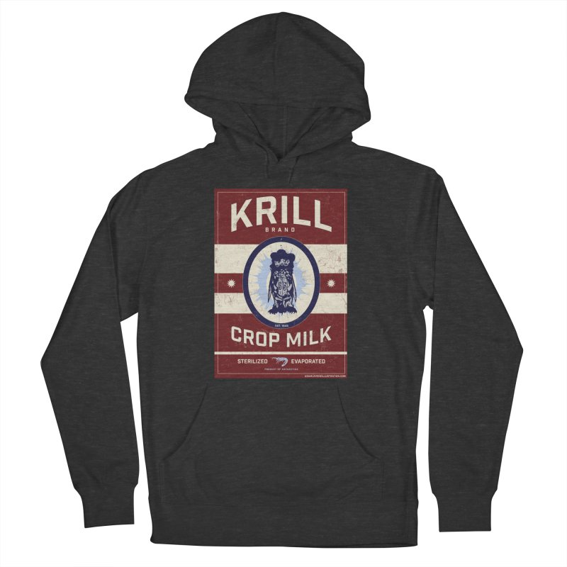 Krill Brand Men's French Terry Pullover Hoody by adamlevene's Artist Shop