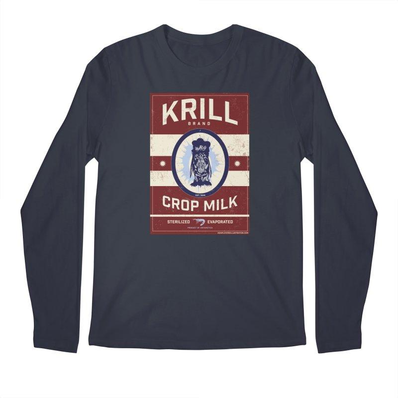 Krill Brand Men's Regular Longsleeve T-Shirt by adamlevene's Artist Shop
