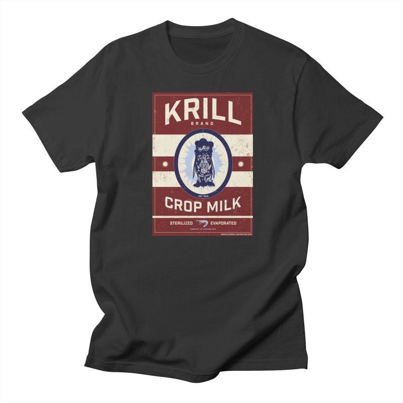 Krill Brand Men's Regular T-Shirt by adamlevene's Artist Shop