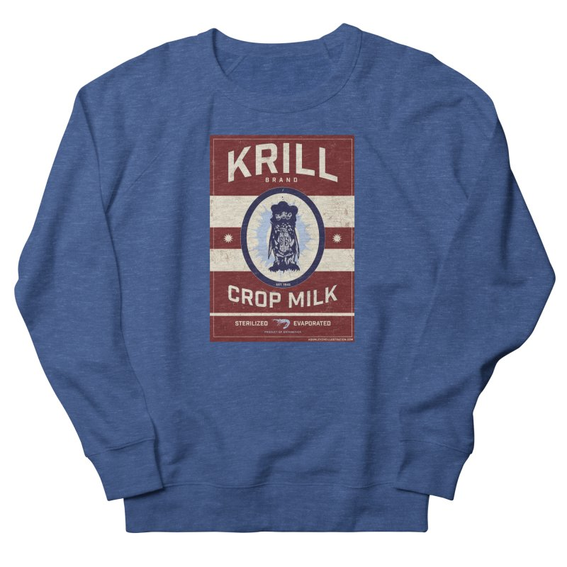 Krill Brand Women's French Terry Sweatshirt by adamlevene's Artist Shop