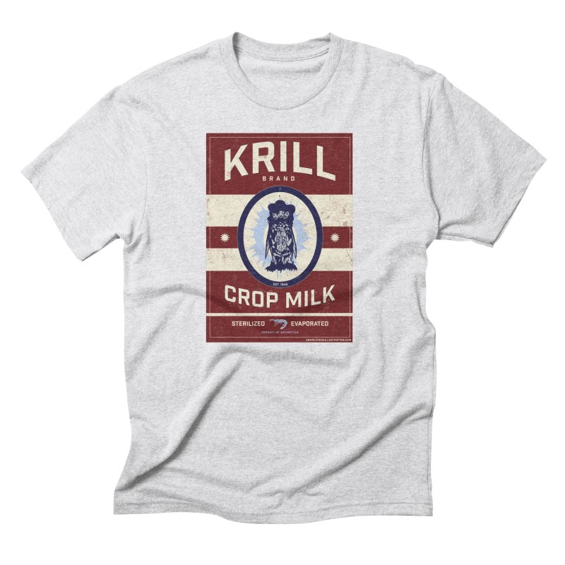 Krill Brand Men's Triblend T-Shirt by adamlevene's Artist Shop