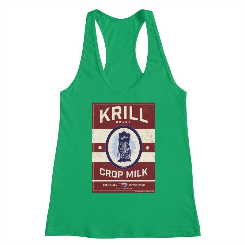 Krill Brand Women's Tank by adamlevene's Artist Shop