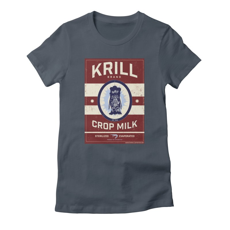 Krill Brand Women's T-Shirt by adamlevene's Artist Shop