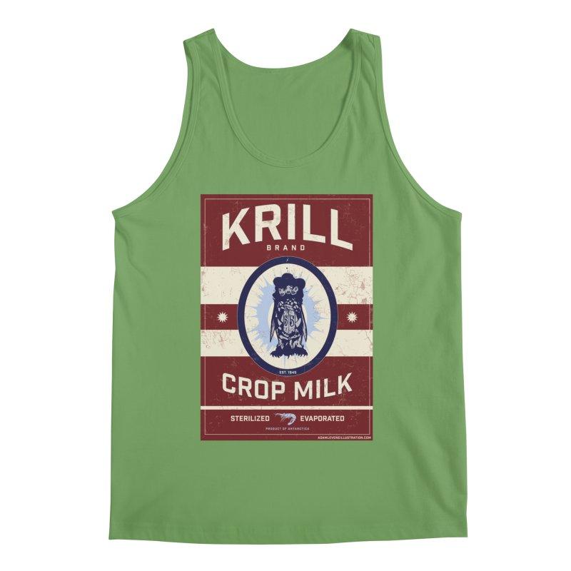 Krill Brand Men's Tank by adamlevene's Artist Shop
