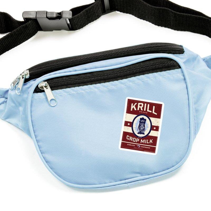 Krill Brand Accessories Sticker by adamlevene's Artist Shop