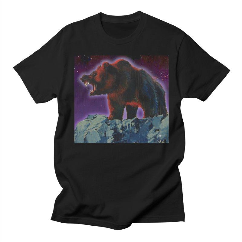 Cosmic Bear Men's T-shirt by adamoday's Artist Shop