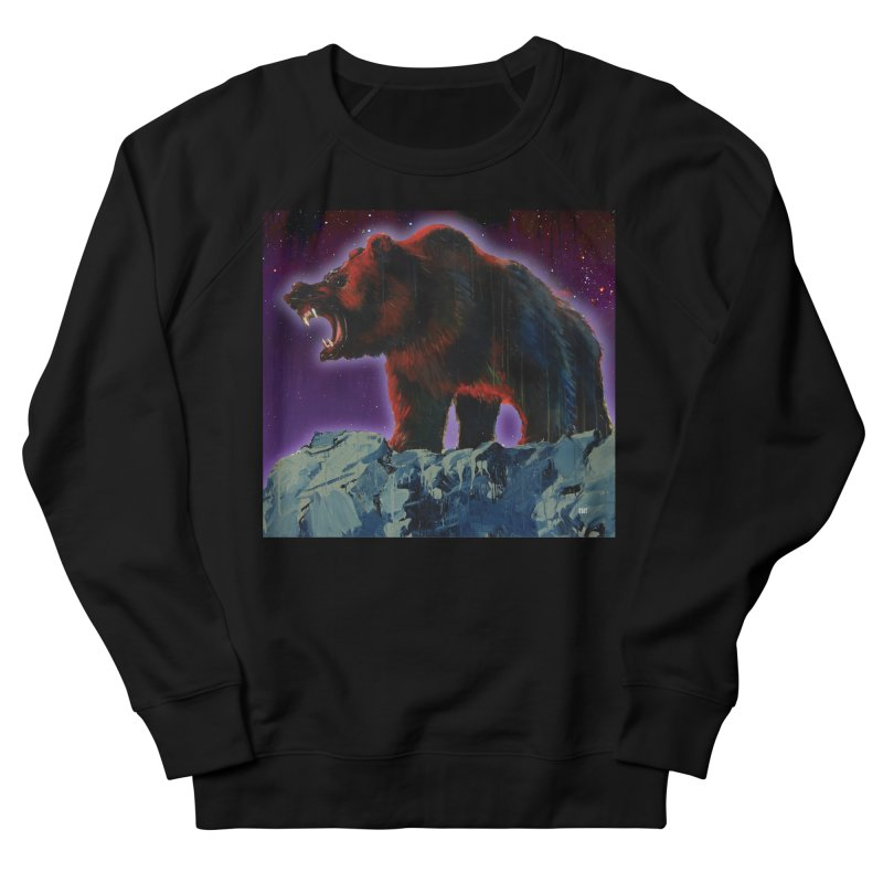 Cosmic Bear Men's Sweatshirt by adamoday's Artist Shop
