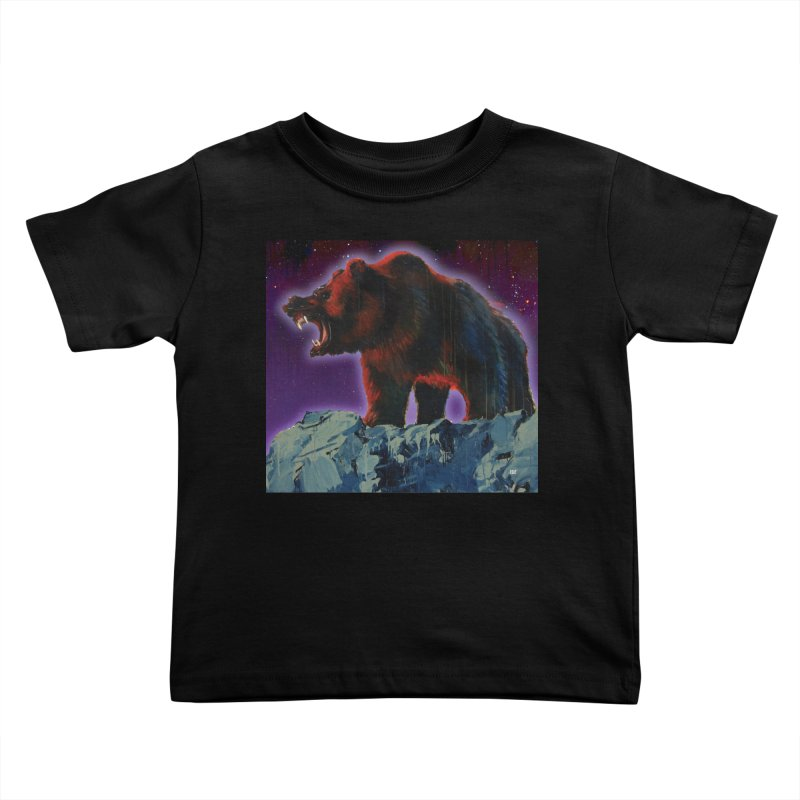 Cosmic Bear Kids Toddler T-Shirt by adamoday's Artist Shop