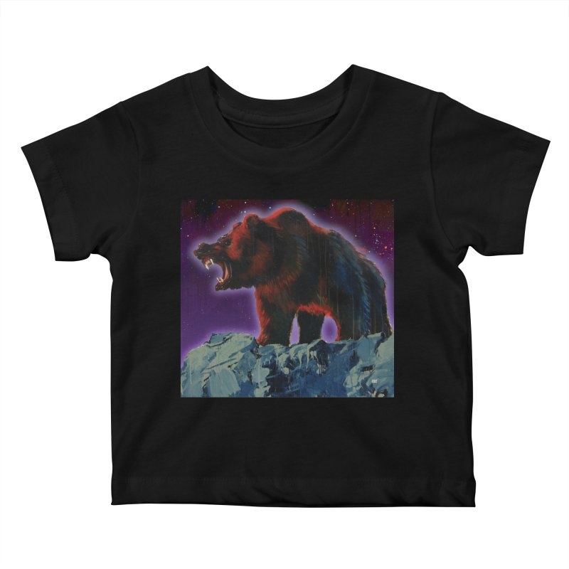 Cosmic Bear Kids Baby T-Shirt by adamoday's Artist Shop