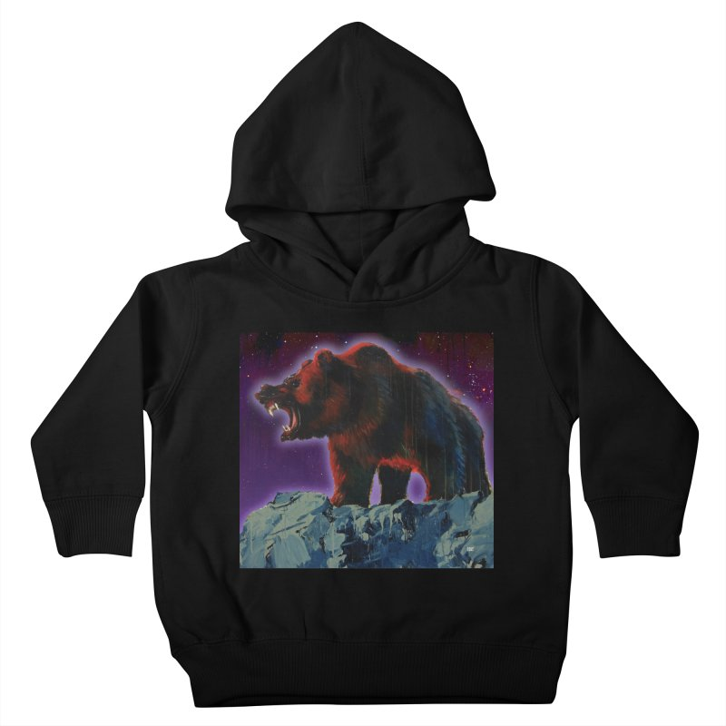 Cosmic Bear Kids Toddler Pullover Hoody by adamoday's Artist Shop