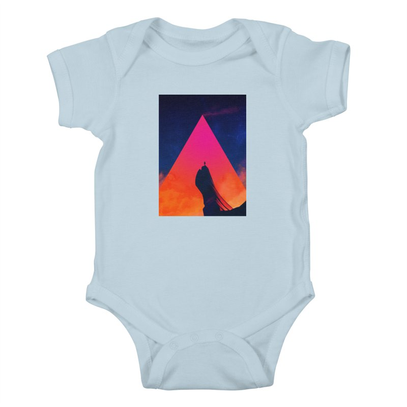 Gilgamesh Kids Baby Bodysuit by Adam Priesters Shop