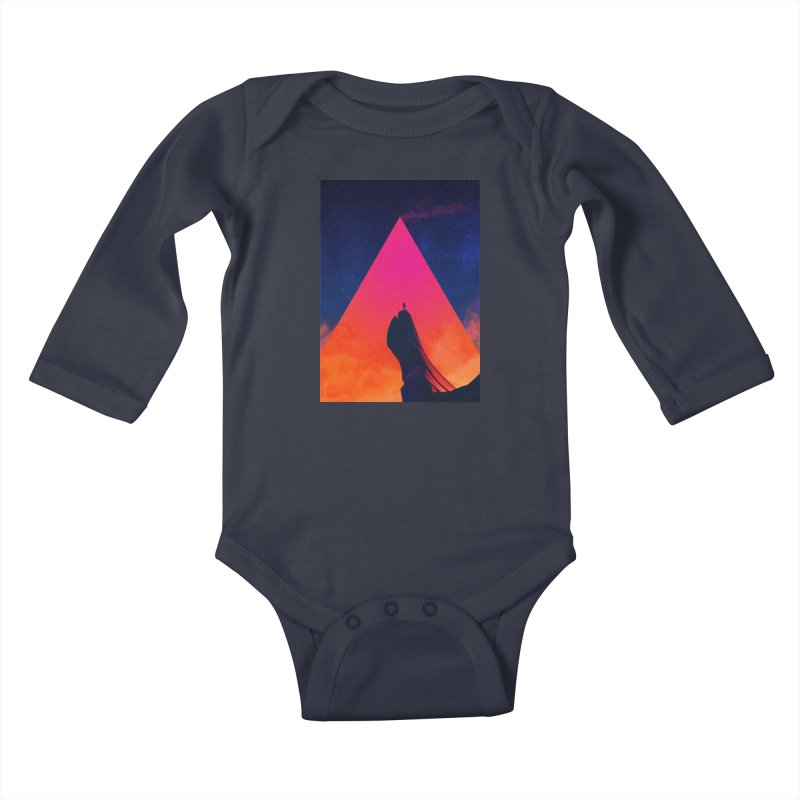 Gilgamesh Kids Baby Longsleeve Bodysuit by Adam Priesters Shop