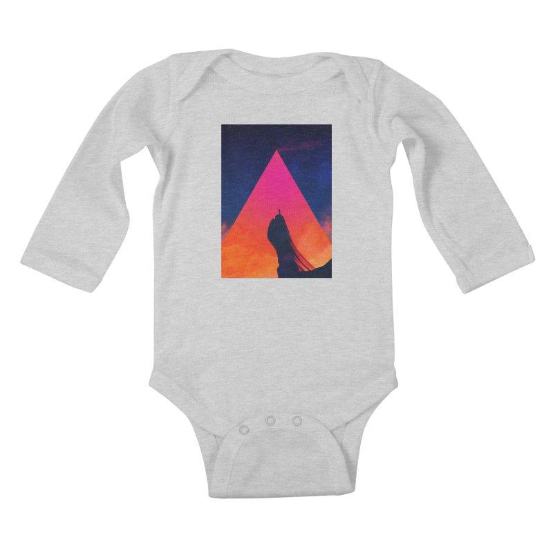 Gilgamesh Kids Baby Longsleeve Bodysuit by Adam Priesters Shop